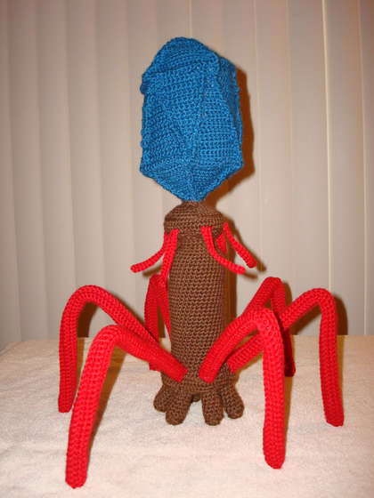 Crochet Bacteriophage