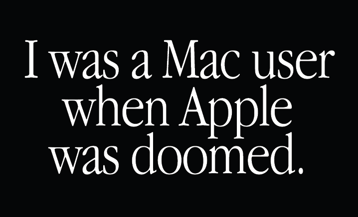 I was a mac user
