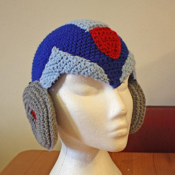 Crochet Mega Man Helmets!