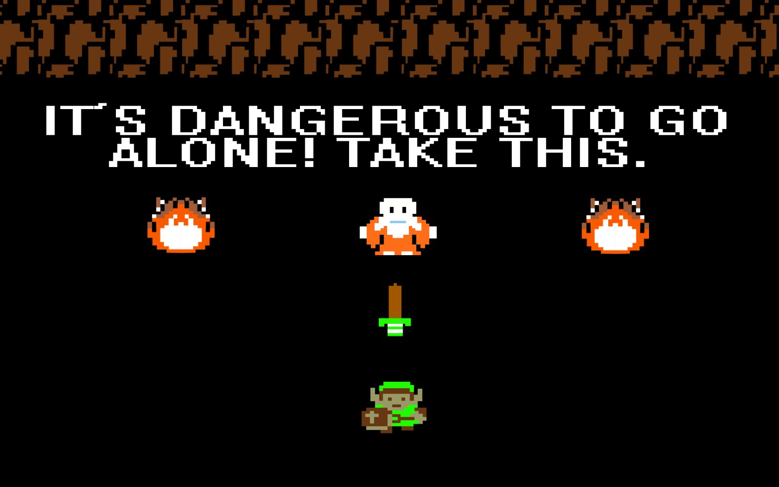 its dangerous to go -#main
