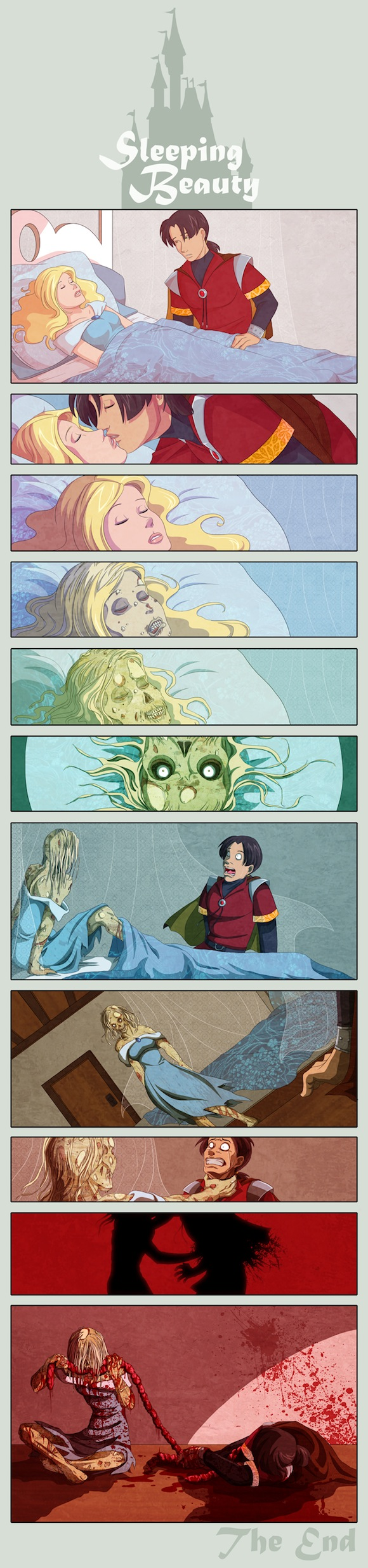 Zombie Sleeping Beauty