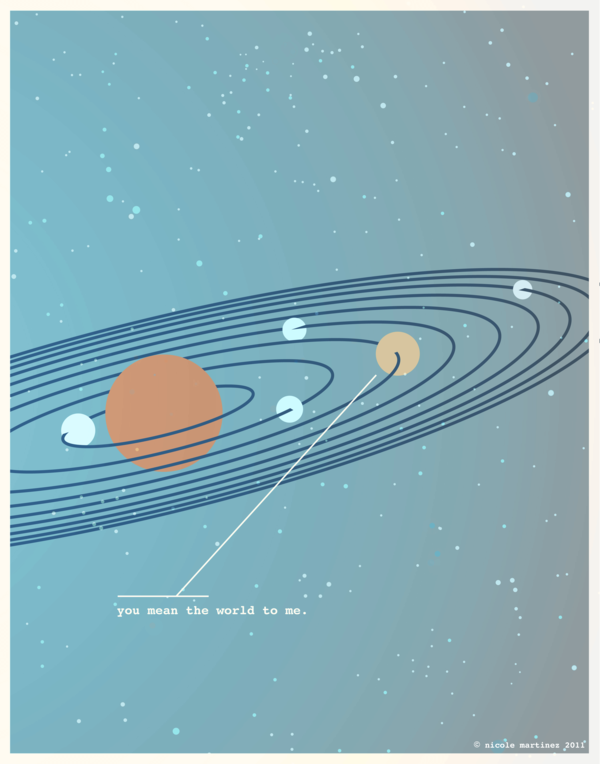 Illustrations for Nerds in Love