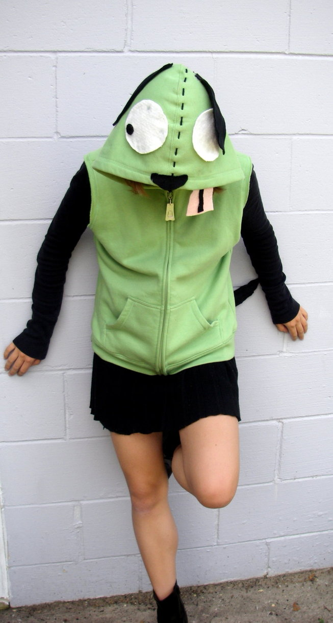 The Same artist also made and I assume is Modelling the Gir Hoodie below