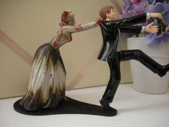 Tardis Wedding Cake Topper The Zombie Wedding Cake Topper