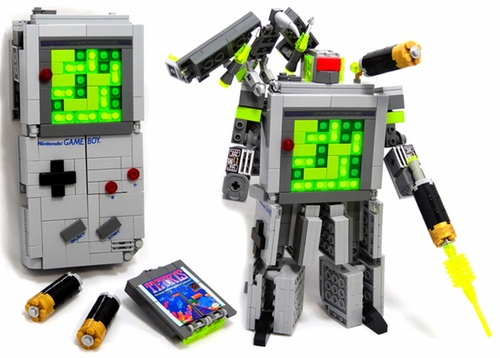 Lego Transformer Gameboy!