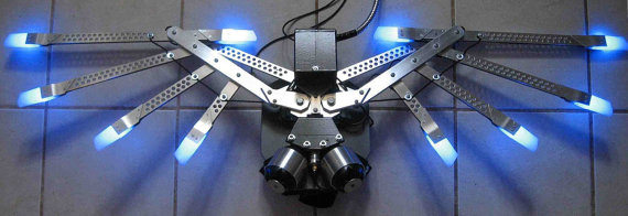 Powered Mechanical Wings - Version 1.5 with LED Light Effects