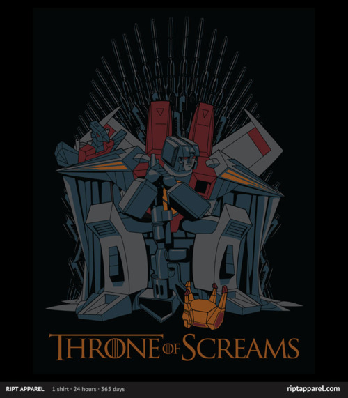 Throne of Screams by Brinkerhoff<br /> USD$10 for 24 hours only