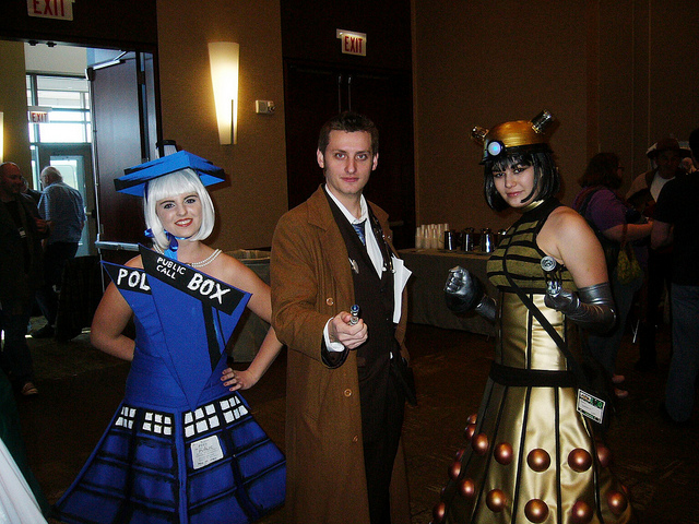 Police Box Dress, 10th Doctor, Dalek Dress