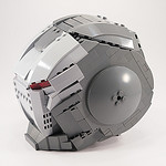 Lego Ironman War Machine Helmet
