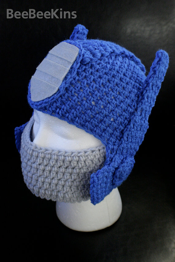 Crochet Pattern For Optimus Prime Hat : hat ? www.ohmz.net