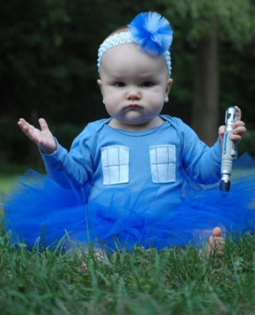 Cutest Baby Dressed Up As The TARDIS You Will See In The Next 5 Minutes…