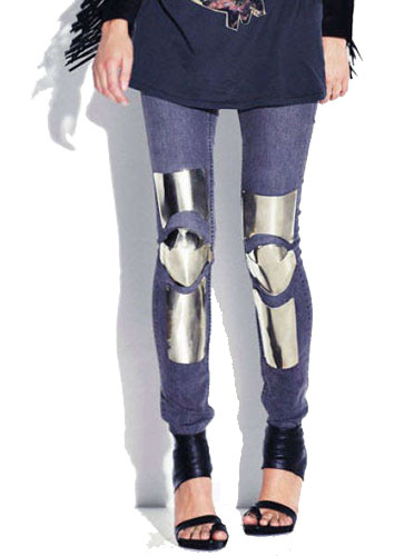 Acne armoured jeans Acne make armoured jeans, world wonders why