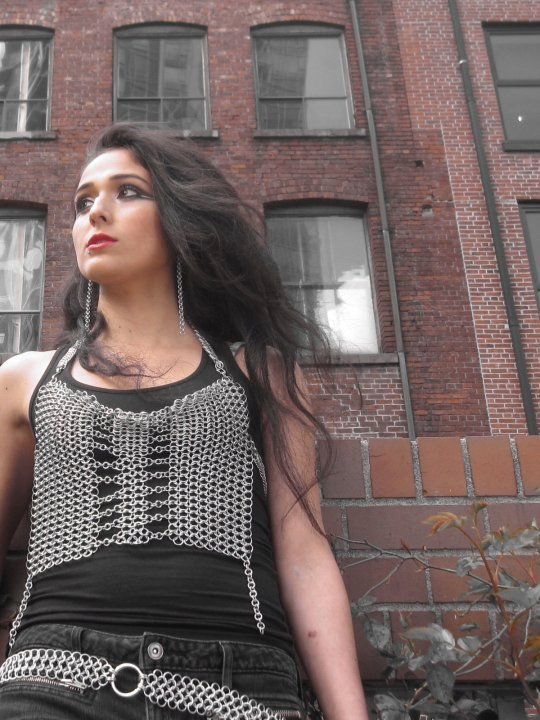 Chainmaille breast plate/halter