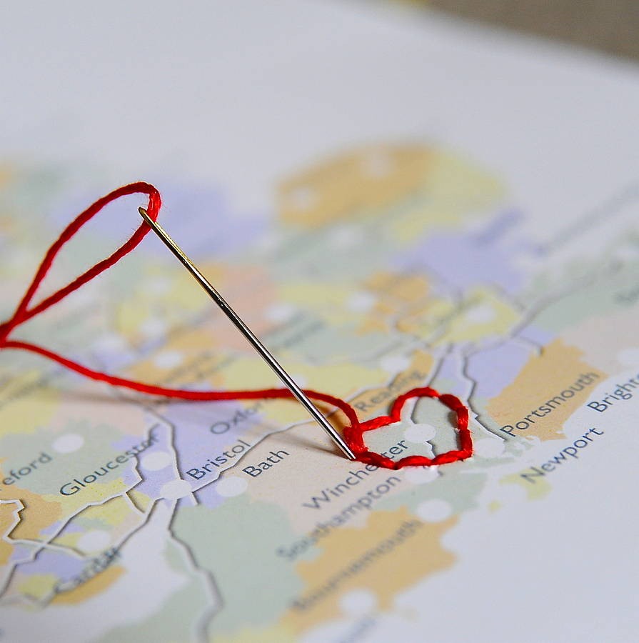 Stitch Your Journey Together Wwwohmznet - Map your route