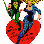 Green Arrow Black Canary dc-comics-valentines-c-1978-1980