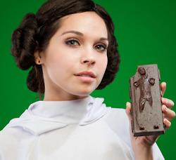 Star Wars Han Solo Carbonite Chocolate 2