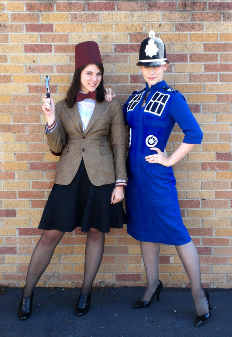 the most fantastically nerdy couples costumes