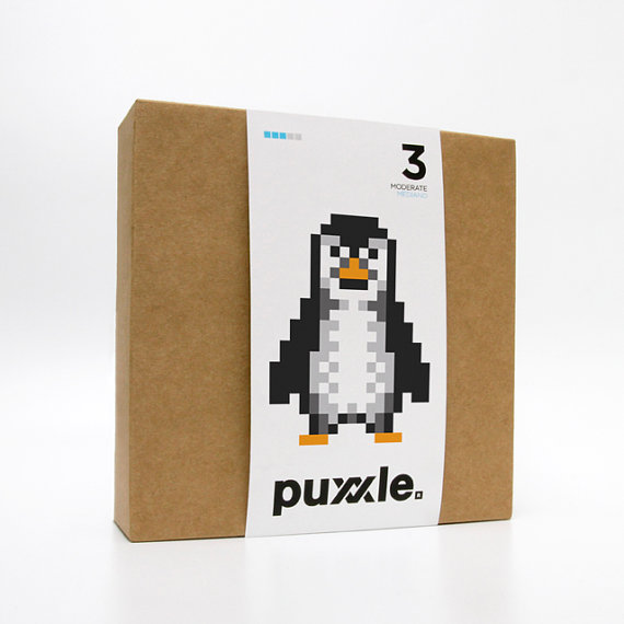 Penguin Puxxle - The Pixel Puzzle