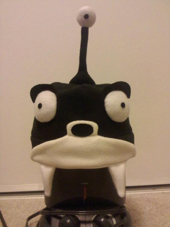 Futurama Nibbler Fleece Hat