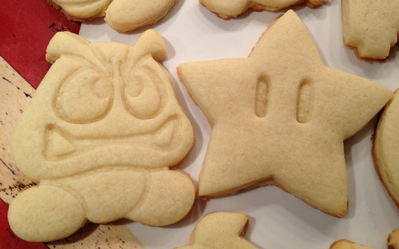 Mario Bros Starman Cookie Cutter
