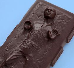 Star Wars Han Solo Carbonite Chocolate 3