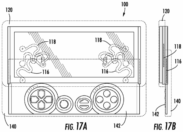 Sony patent suggests an Xperia Play with dual keyboards, it's slidingly slidable
