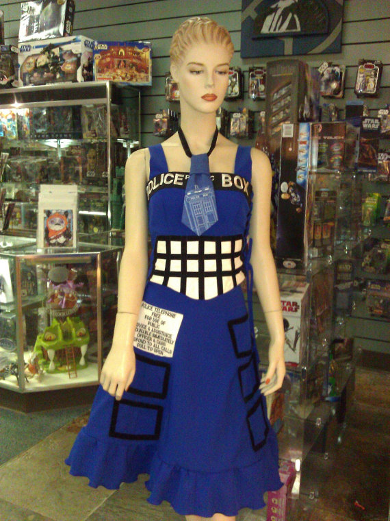 100% Whovian Tardis Dress