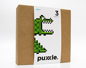 Alligator Puxxle - The Pixel Puzzle