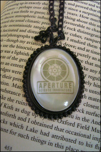 Image of Aperture Science Necklace