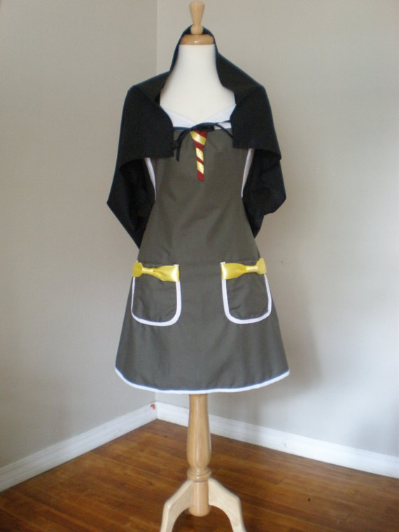 Harry Potter  Costume Apron with cape