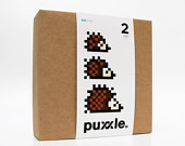 3 Hedgehog Puxxle - The Pixel Puzzle