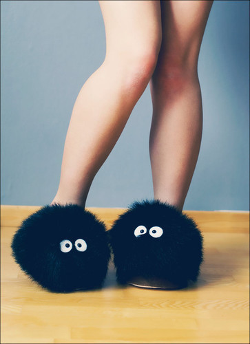 pixelated-poptart: Soot sprite slippers? Yes please. 